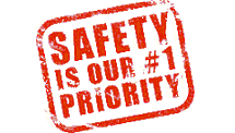 Safety is our #1 Priority